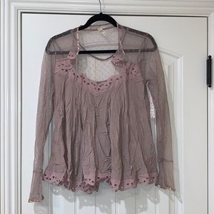 New with tags Free People blouse.